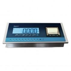 INDICADOR LCD INOXIDABLE CON IMPRESORA Y VERIFICABLE CE GI410i Print