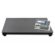 Báscula de plataforma con impresora