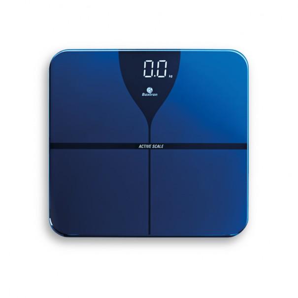 Balanza de baño con bluetooth para medir la grasa corporal BLUE