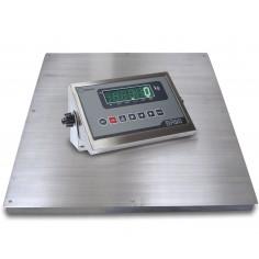 Báscula Industrial Inoxidable PTB con indicador Inox BR90