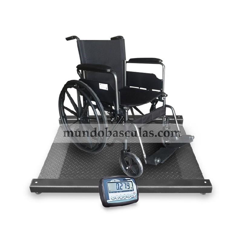 Básculas para personas en silla de ruedas